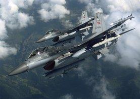 Hakkari'de tespit edilen PKK'lılar F-16 ile vuruldu