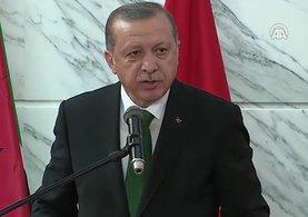 Cumhurbaşkanı Erdoğan: ''Mutluyum zira Türkiye'den ilk olarak ben geliyorum''