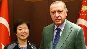 Cumhurbaşkanı Erdoğan Ayla ile buluştu