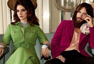 Gucci'den Lana Del Rey ve Jared Leto'lu reklam