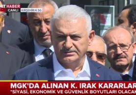 Başbakan'dan Yıldırım'dan flaş referandum açıklaması!