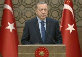 Cumhurbaşkanı ErdoğanMuhtarlar toplantısında konuştu