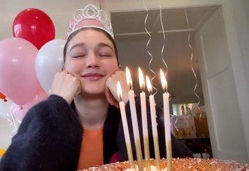 Gigi Hadid 25 yaşında