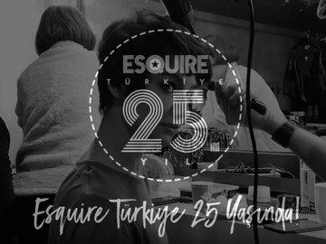Esquire Türkiye Kasım 2018 - Birce Akalay / 25.yıl özel