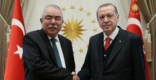 Erdoğan meets Afghanistan's Gen. Dostum in Ankara