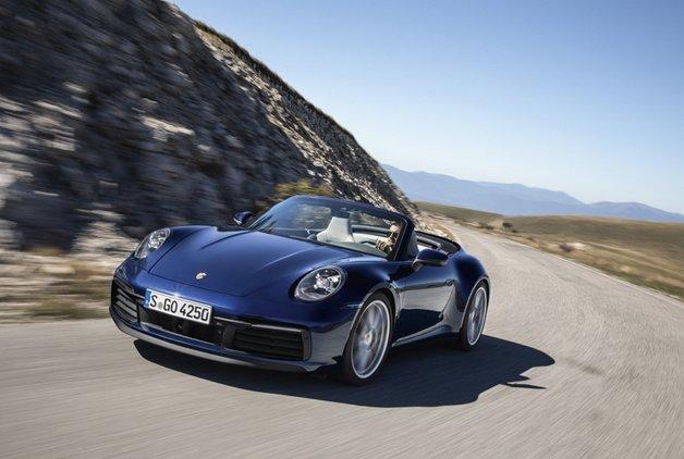 Yeni Porsche 911 Cabriolet