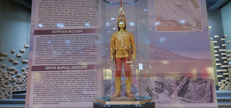 ANKARA MUSEUM TO EXHIBIT KAZAKH GOLD ARMOR