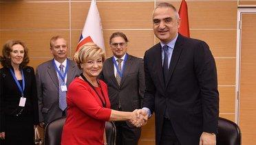 Türkiye ile Slovakya arasında kültür iş birliği mutabakat zaptı imzalandı