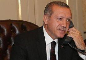 Cumhurbaşkanı Erdoğan'dan Mescid-i Aksa telefonu