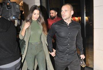 Wesley Sneijder ve Yolanthe Cabau ayrılıyor