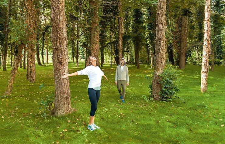 Eğitimli rehberler eşliğinde doğada sessizce yürümek, sesleri, kokuları, renkleri hissetmek, diğer bir deyişle doğayı içine çekmek... Tüm bunları içinde barındıran orman terapisi ile hem vücudunuzu hem de ruhunuzu kışa hazırlamaya ne dersiniz?