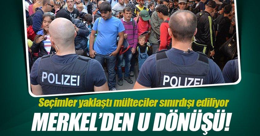Seçim yaklaştıkça Merkelin mülteci kararı değişti
