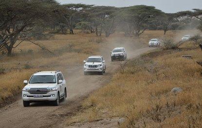 Toyota 5 kıta sürüşü