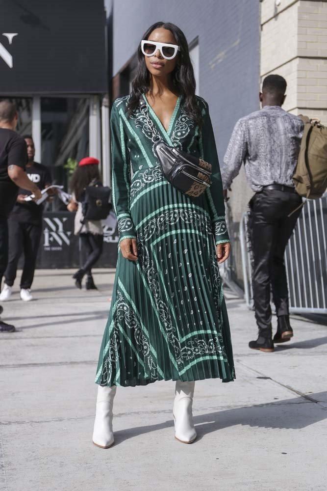 New York Moda Haftası'ndan sokak stilleri!