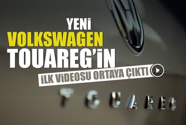 Yeni Volkswagen Touareg'in ilk videosu ortaya çıktı