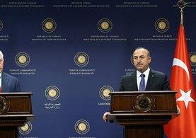 Dışişleri Bakanı Çavuşoğlu ve Tillerson'dan ortak açıklama