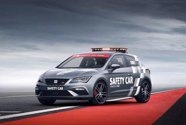Leon CUPRA artık resmi güvenlik aracı