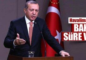 Cumhurbaşkanı Erdoğan: Bakanlara süre verdim