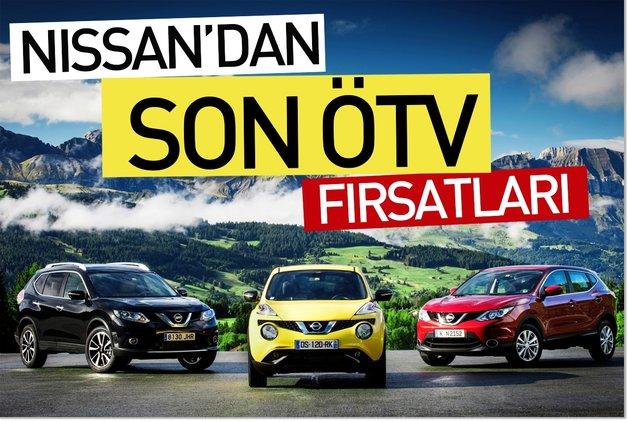 Nissan'dan son ÖTV fırsatları