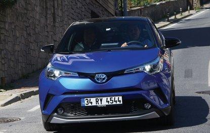 SÜRÜŞ İZLENİMİ · Toyota C-HR 1.8 Hybrid