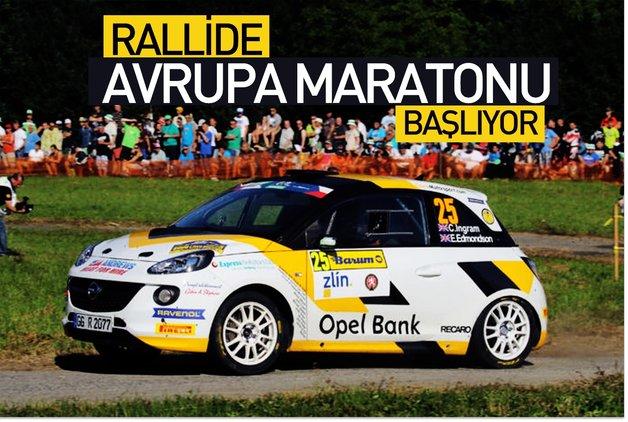 Rallide Avrupa maratonu başlıyor