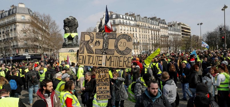 YELLOW VESTS PROTEST AMID ENHANCED SECURITY ACROSS FRANCE
