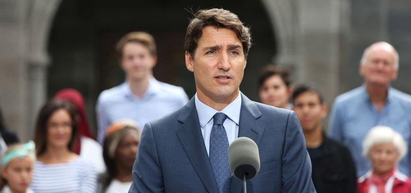 CANADAS TRUDEAU MAY INTERVENE IN RELIGIOUS SYMBOL BAN