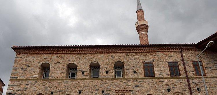 Aydın'da restorasyonu tamamlanan 429 yıllık cami ibadete açıldı