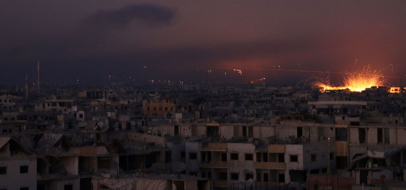 SYRIAN REGIME MAKES FRESH INROADS INTO EASTERN GHOUTA