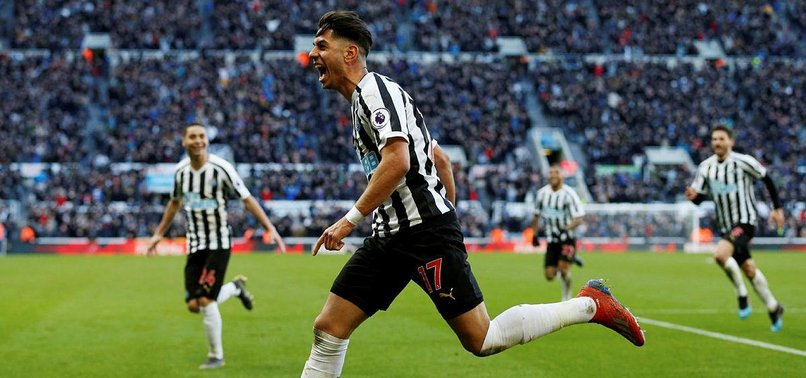 NEWCASTLE RALLIES FROM 2-0 DOWN TO BEAT EVERTON 3-2