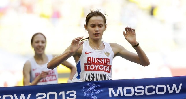 A Russian gold medalist, Elena Lashmanova, was banned for doping, but kept her world gold medal and the Olympic gold she won in 2012.