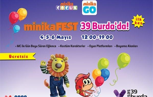 minikaFEST ilk kez Lüleburgaz 39 Burda'da!