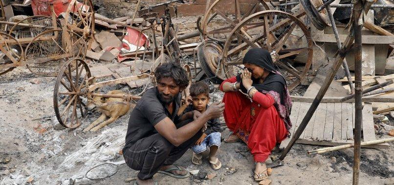 INDIAN CAPITAL NEW DELHI STILL TENSE AS RIOTS DEATH TOLL HITS 42