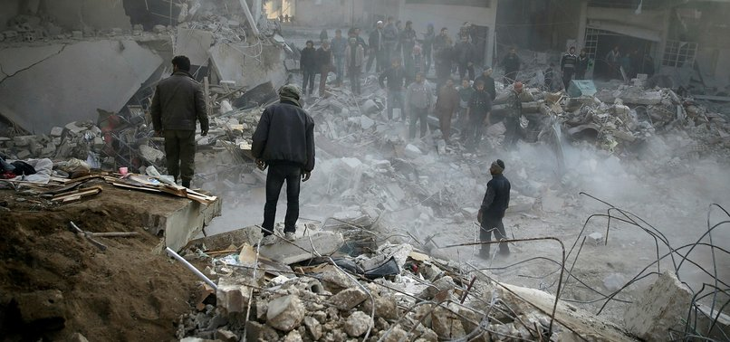 OVER 1,300 CIVILIANS KILLED BY REGIME FORCES IN SYRIAS EASTERN GHOUTA IN 2017