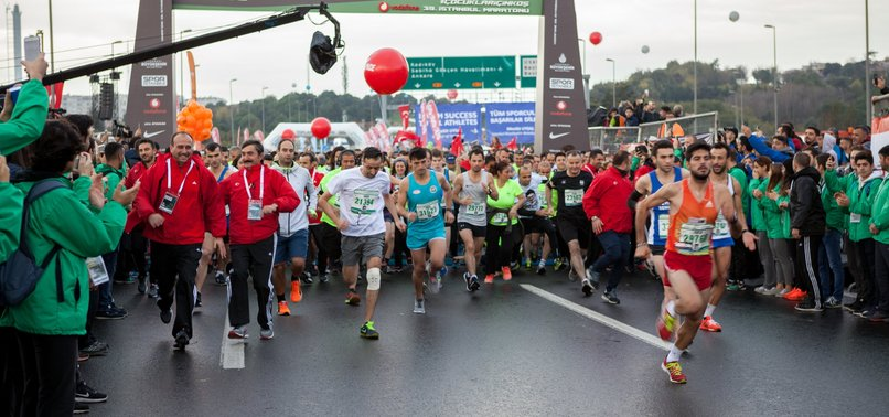 30,000 TO RUN IN TRANSCONTINENTAL ISTANBUL MARATHON