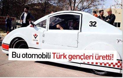 Bu otomobili Türk gençleri üretti! Ödül bile kazandı…