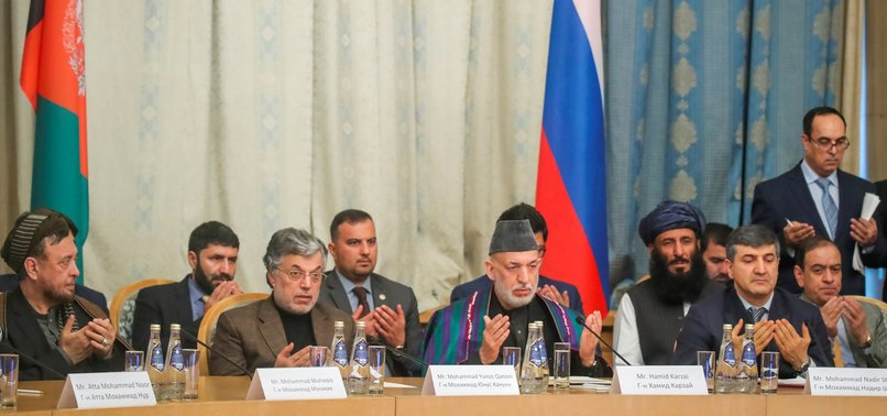TALIBAN HOLD RARE TALKS WITH AFGHAN POLITICIANS IN MOSCOW