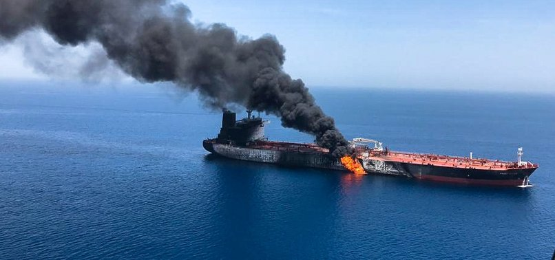 US SAYS IRAN BEHIND ATTACKS ON 2 TANKERS NEAR PERSIAN GULF
