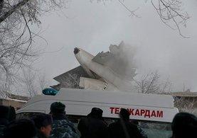 Kırgızistan'da düşen uçakla ilgili Türkiye'den önemli açıklama yapıldı