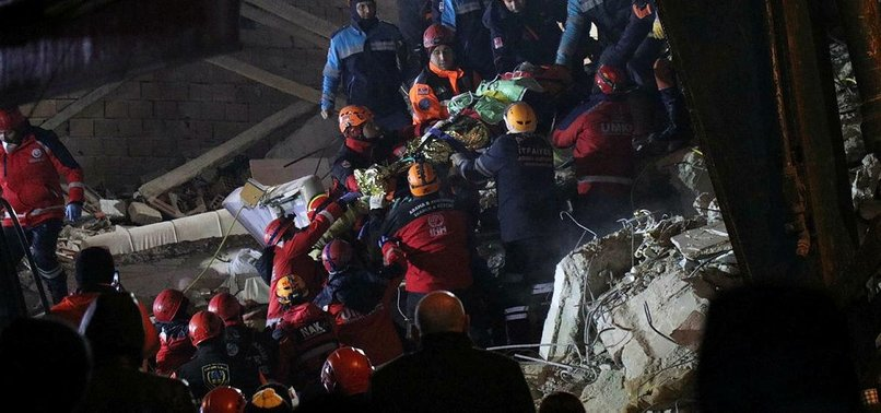 MOTHER, BABY RESCUED 24 HOURS AFTER POWERFUL ELAZIĞ EARTHQUAKE