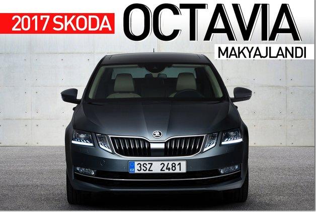 2017 Skoda Octavia ortaya çıktı