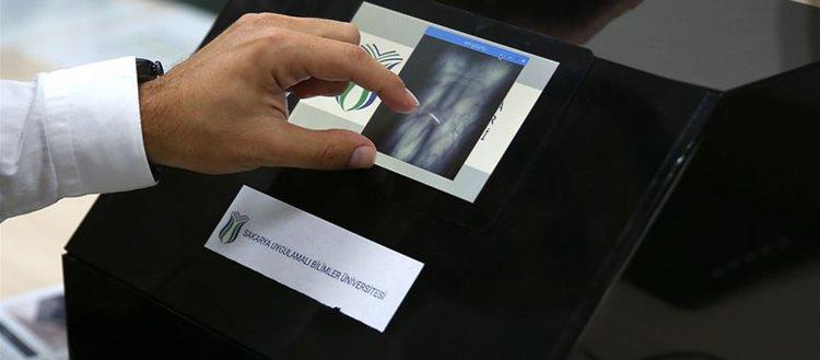 Damar iziyle kimlik tarama cihazı geliştirdiler