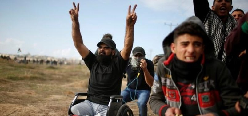MEDICAL RECORDS SHOW PARAPLEGIC PALESTINIAN SHOT IN HEAD DURING PROTEST