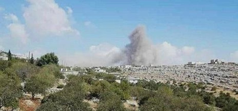 ASSAD REGIME BACKED BY RUSSIA SIEGES NW SYRIA