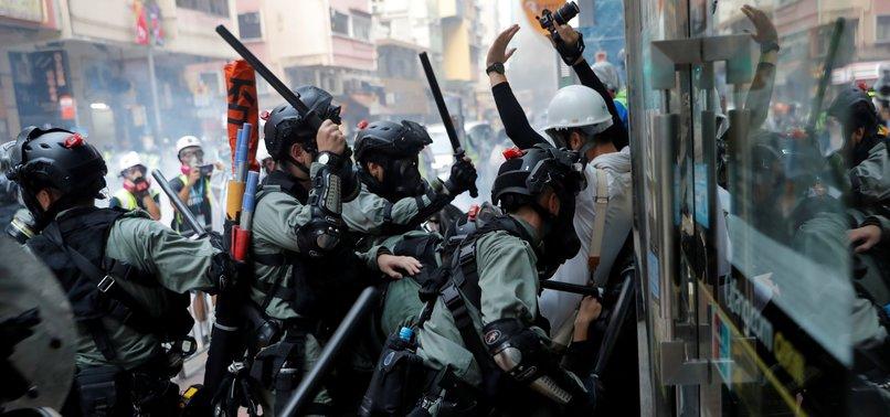 HONG KONGS LAST BRITISH LEADER: CHINA PURSUING ORWELLIAN AGENDA