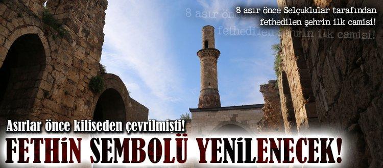 Fethin sembolü 'Kesik Minare' yenilenecek!
