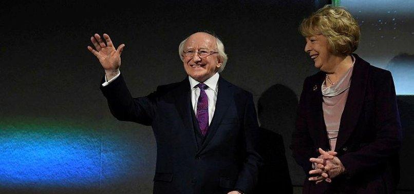 MICHAEL D HIGGINS RE-ELECTED AS IRISH PRESIDENT
