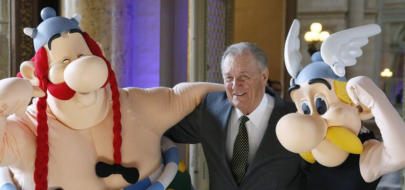 ASTERIX CO-CREATOR ALBERT UDERZO DIES AGED 92