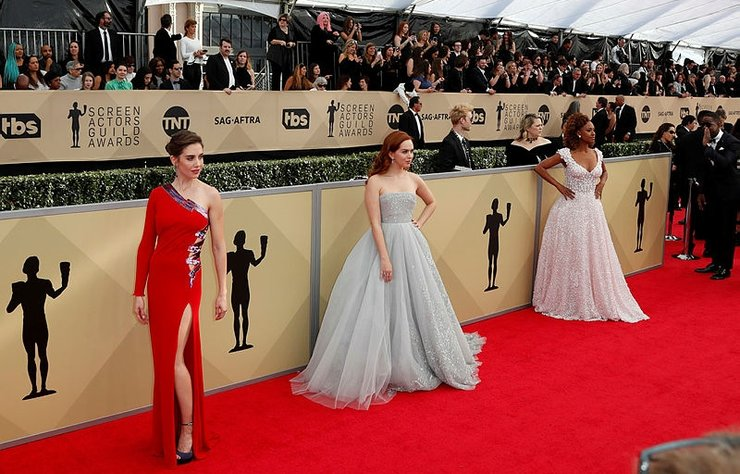 Screen Actors Guild Awards dün gece The Shrine Auditorium'da gerçekleşen bir törenle 24. kez sahiplerini buldu.