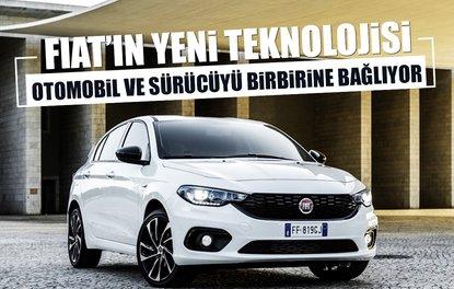 Fiat'ın yeni teknolojisi otomobil ile sürücüyü birbirine bağlıyor